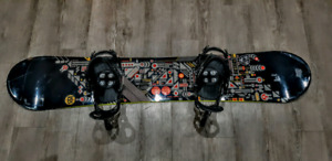 62b22aaa39e9 Like New Snowboard + Bindings Combo - K2 Fuse and K2 CTC Cinch