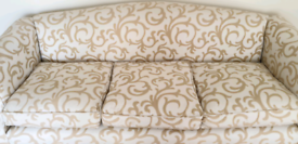 Regency Style 3-Seater Sofa (Reproduction)