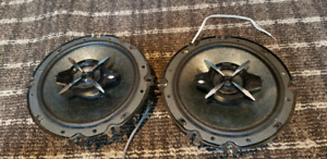 """SONY 6.5"""" 3 way speakers"""