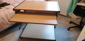 Computer/office desk and chair. SOLD .