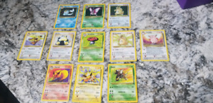 Pokemon cards jungle series near mint adult owned
