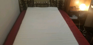 Sale: Mattress, bed frame, Ikea Table, Chairs, Lamp Table