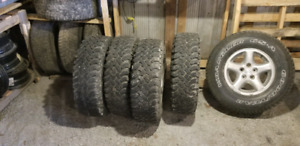 Jeep tj wheels and tires