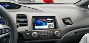 Touchscreen Android Radio with Back up cam