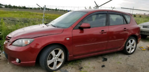2006 mazda 3 for parts