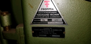 Frommia table saw
