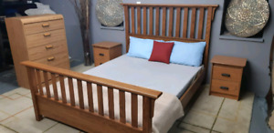 Queen bedroom set/delivery available