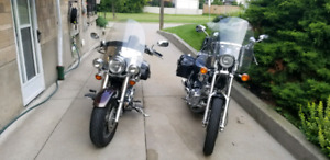 2005 Yamaha 1100 vstar and 1999 1100 virago