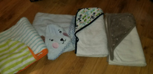 Set of baby towels