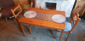 DINING TABLE + 2 CHAIRS ** FREE DELIVERY**