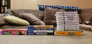 Games for Sale ( Switch, PS4, 3ds )