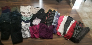 size large lot of clothing