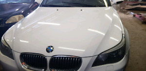 2008 BMW M5 White on brown 6 speed manual