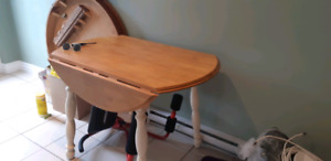 Moving sale. Table set with 2 chairs. Table set with 5 chairs. D