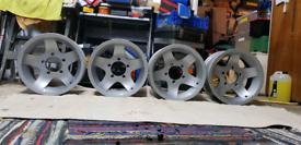Suzuki jimny.daihatsu alloy wheels x4