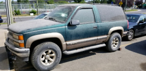 1997 Chevrolet Tahoe 6.5 turbo diesel 2 door rare