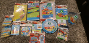 1st year Birthday Party Items - Cars Theme