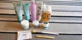 Manicure Pedicure cosmetics + beauty bag