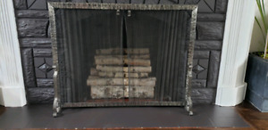 Fireplace screen / cover