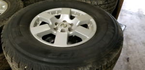 265/75R16 Mesa Ap2 tires+rims 60%