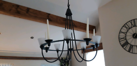 Amazing Large Lights/Candles Chandelier x 2.....Vgc