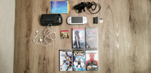 PSP Silver Daxter Edition with 6 Games and more