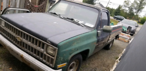 Chevy square body project