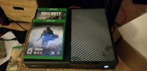 Xbox one 1tb + controller + 2 games
