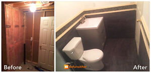 General Contracting, Basement Finishing,Bath reno, Interlocking Cambridge Kitchener Area image 9