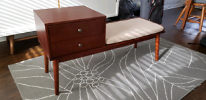 Entry Bench with Storage