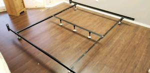 King Size Frame with Box Spring $25