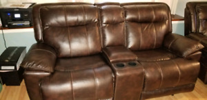 BRAND NEW RECLINING COUCH and CHAIR