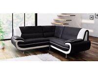 Retro design palmerro sofas / 3+2 seater set or corner sofa in a choice of 4 colours