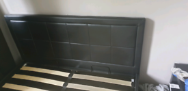 Ottoman Bed frame with storage