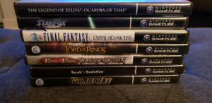 Selling Gamecube games for CHEAP!