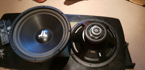 JL Audio 15 Inch subs VCR , Perfect working condition!