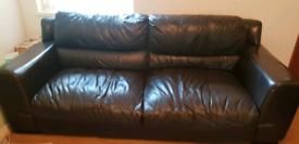 DFS 2 x Dark Brown sofas