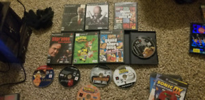 PS2 GameCube and Xbox 1 games in a PS2 system