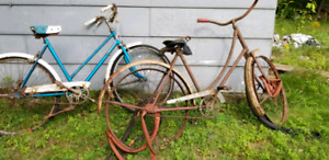 Old Bicycles for sale.