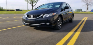 Honda Civic 2015 Touring LEASE TRANSFER 2 YEARS LEFT!