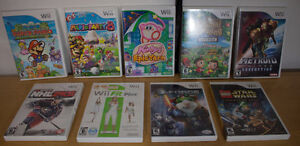 Wii Console games - Your Pick - Prices in description