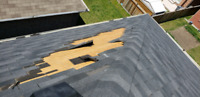 Roof repairs, missing shingles, vent installations
