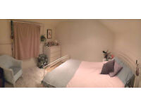 Short let: Large double room in 2-bed split level flat £170pw inc bills *available until end of May*