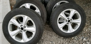 FORD EDGE RIMS AND SNOW TIRES