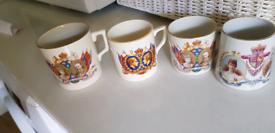 4 x Commemorative Mugs