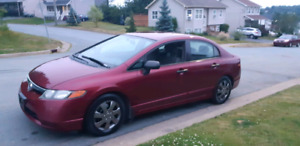 2008 Honda Civic, LOW KMS! NEW MVI!