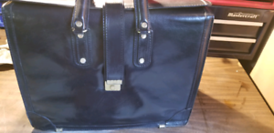 Large leather briefcase from Fournier Leather