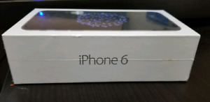 Brand new sealed box iPhone 6 32G space grey apple warranty