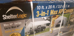 Shelter Logic Canopy 3-in-1 (10x20ft) NEW