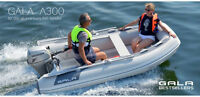 INTRODUCTORY PRICING ON GALA INFLATABLES FEATURING ALUMINUM HULL